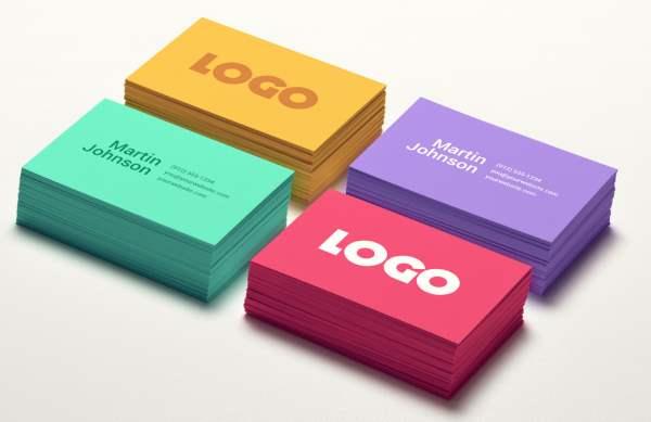 10 new and free business card psds 4 colors business card mockup psd psd files gfxnerds google chrome2013 10 reheart Choice Image