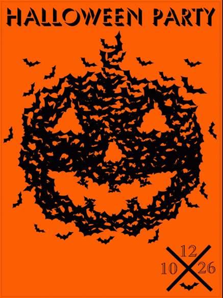 10 Superstitious Halloween Poster Designs