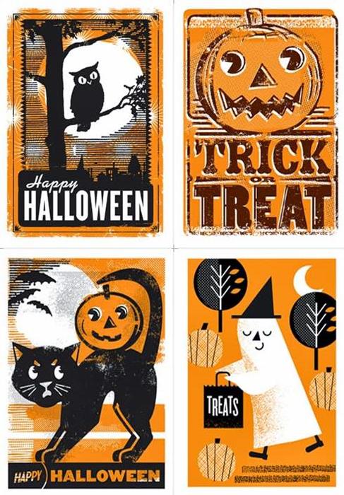 my owl barn l2 design collective halloween cards google chrome_2013 10 15_12 - Photo Halloween Cards