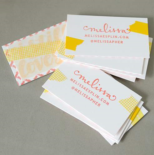 10 elegant uncoated business card designs colourmoves