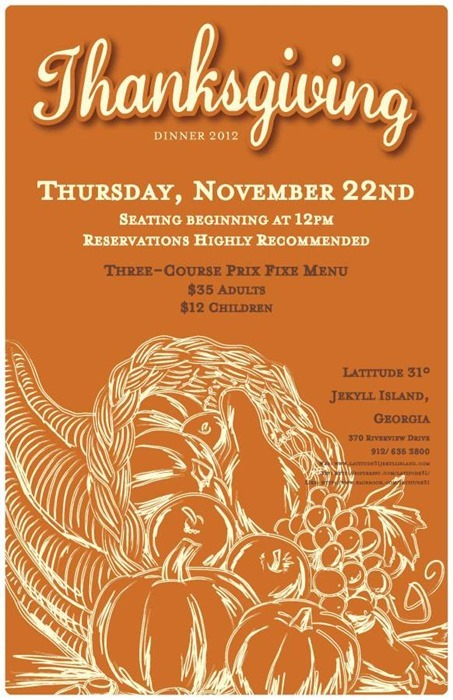 10 Cool Thanksgiving Flyer and Poster Designs