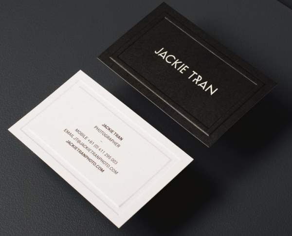 10 elegant uncoated business card designs for Band business card ideas