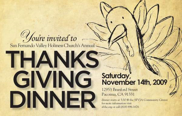 10 Cool Thanksgiving Flyer and Poster Designs – Dinner Flyer