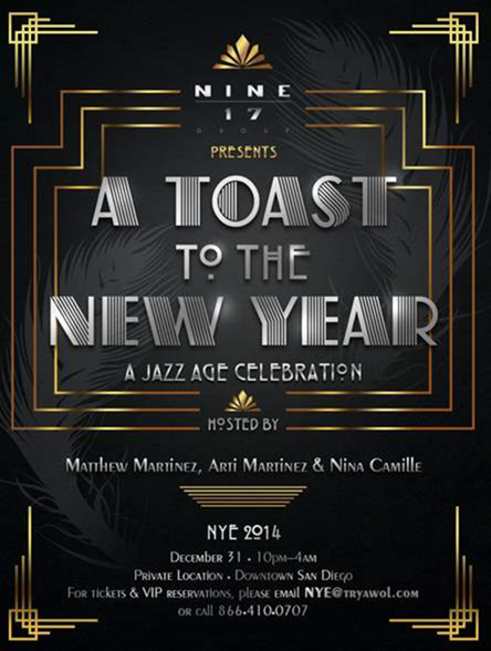 10 Cool New Year's Eve Designs