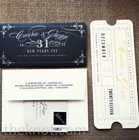 10 Creative New Years Eve Invitation Card Designs
