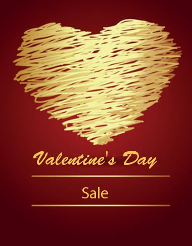 Mail Out Valentineu0027s Day Themed Greeting Cards Or Postcards Promoting Your  Sale. PsPrint Features