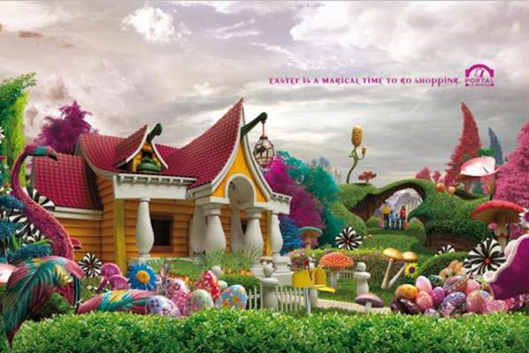 Magic Easter Outdoor Advert by Unitasrnl Creative Advertising & Commercials_2014-03-24_10-58-59-Optimized