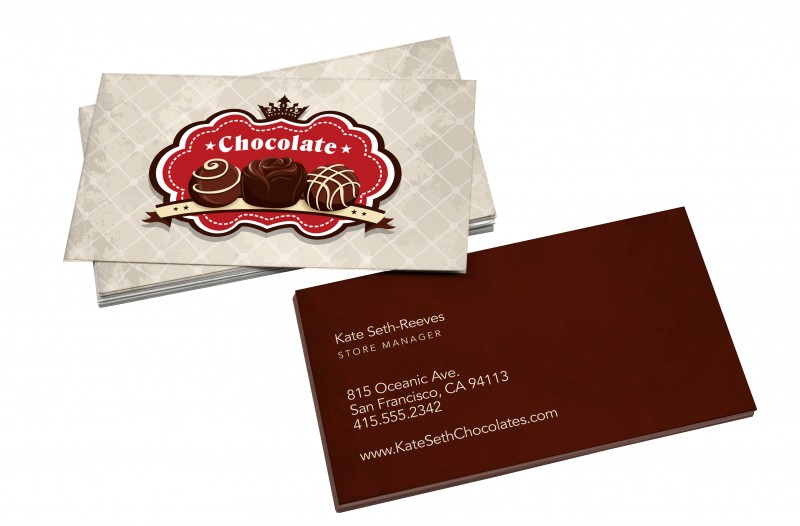 Velvet business cards let customers feel your quality reheart Gallery
