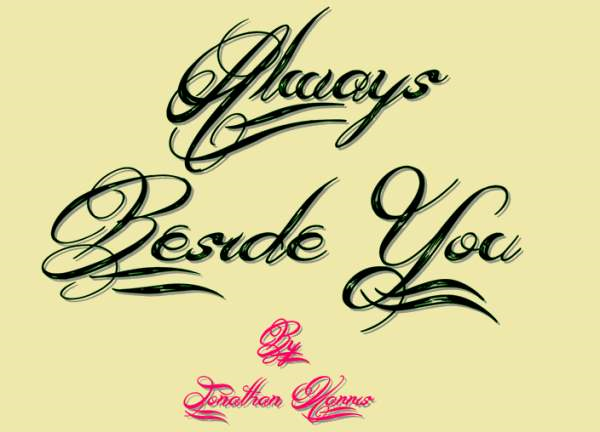 Always Beside You font by Jonathan S. Harris - FontSpace - Google Chrome_2014-04-29_09-29-12