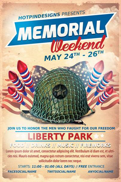 Memorial Day Event Flyer Template on Behance - Google Chrome_2014-04-24_09-34-25