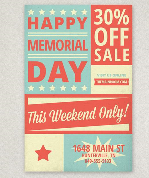 30 Winning Memorial Day Designs