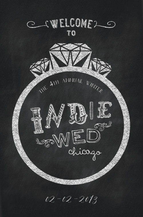 Booklet cover for Indie Wed.