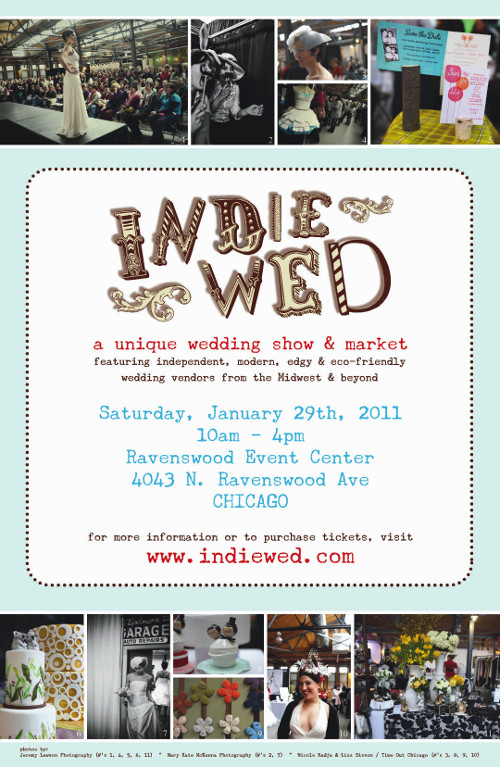Poster for Indie Wed.