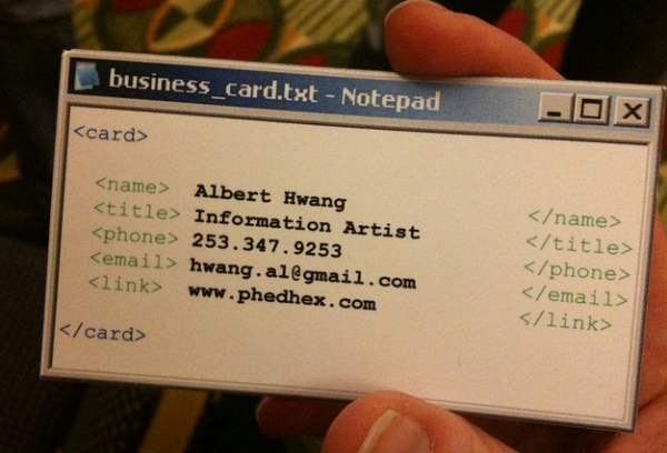Business card hack 5 tricks for a powerful business card colourmoves