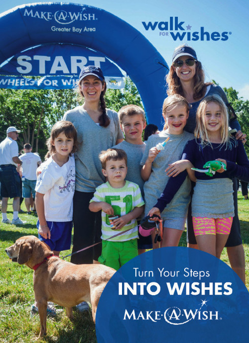 Postcard for Make-a-Wish Greater Bay Area