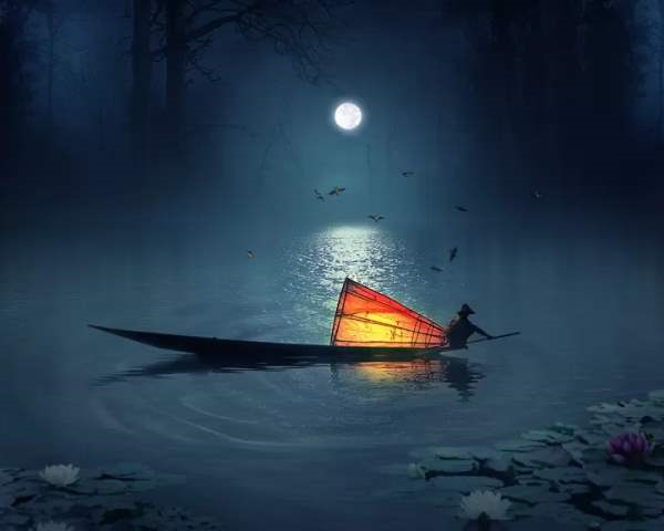 Create a Photo Manipulation of a Fisherman in a Lake Photoshop Tutorials - Goo_2014-06-02_09-29-41