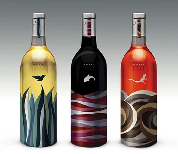 30 Sweet Wine Bottle Label Designs