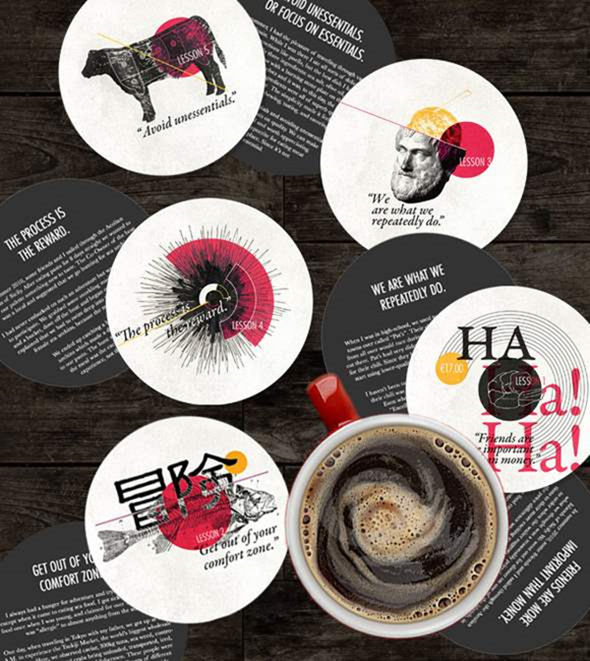 Coasters & Posters Principles of a Victor on Behance - Google Chrome_2014-08-25_09-28-08