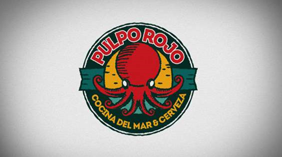 Pulpo Rojo - Comida del mar y Cerveza on Behance - Google Chrome_2014-08-25_08-35-51