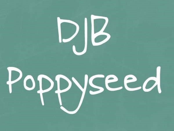 DJB Poppyseed font by Darcy Baldwin Fonts - FontSpace - Google Chrome