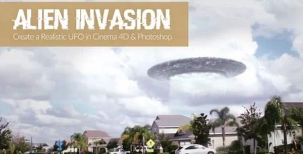 Cinema 4D & Photoshop Tutorial Alien Invasion - Google Chrome-000185