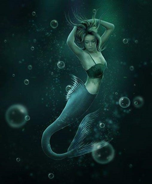 Create an Underwater Scene of a Mermaid Photoshop Tutorials - Page 4 - Google -000087