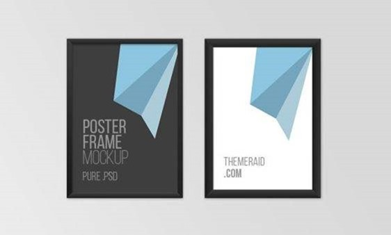 » Poster Frame Mockup PSD TemplateFree PSD,Vector,Icons,Graphics - Google Chrome-000163
