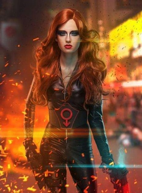Superhero Black Widow - Photoshop Tutorials Tutorial King - Google Chrome-000091