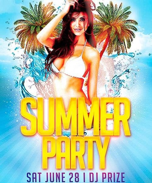 Free-Flyer-Template-Sumer-Party-Preview-Awesomeflyer-com-500x600