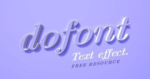 001-dofont-text-effect-type-caracter-free-resource-psd