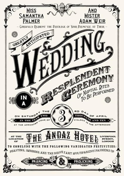 25 unique wedding invitations you wish you had thought of 04111f27e10db3de3a4e4ca56270ac43 stopboris Choice Image