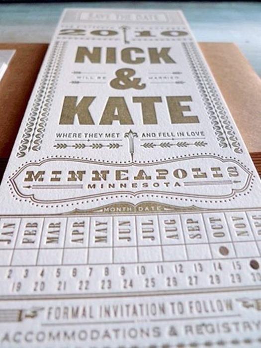 25 Unique Wedding Invitations you wish you had thought of