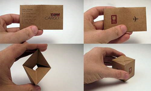 25 unique folded business cards colourmoves
