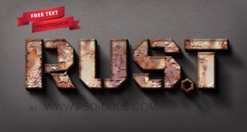 rusty-metal-text-in-photoshop