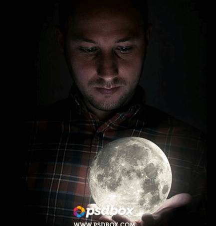 full moon photomanipulation tutorial