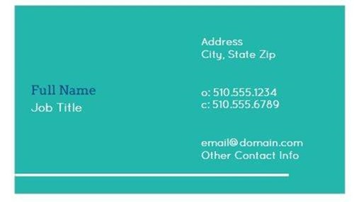 10 easy to personalize business card designs 6 classroom owl colourmoves