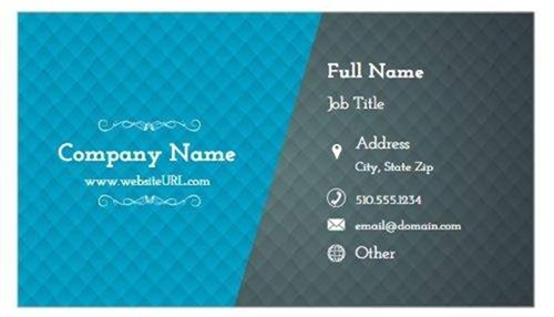 10 easy to personalize business card designs business cards that match your brand image image197 reheart Choice Image