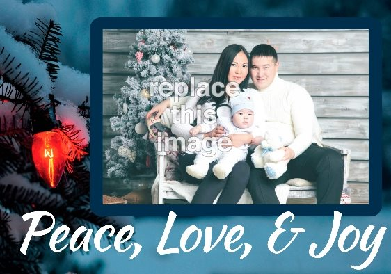 Beautiful And Free Christmas Photo Card Templates PsPrint - Free christmas card templates for photographers
