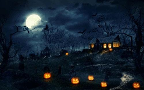 25 Haunting Halloween Design Tutorials