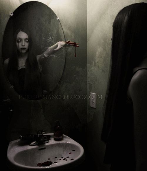 creepy mirror
