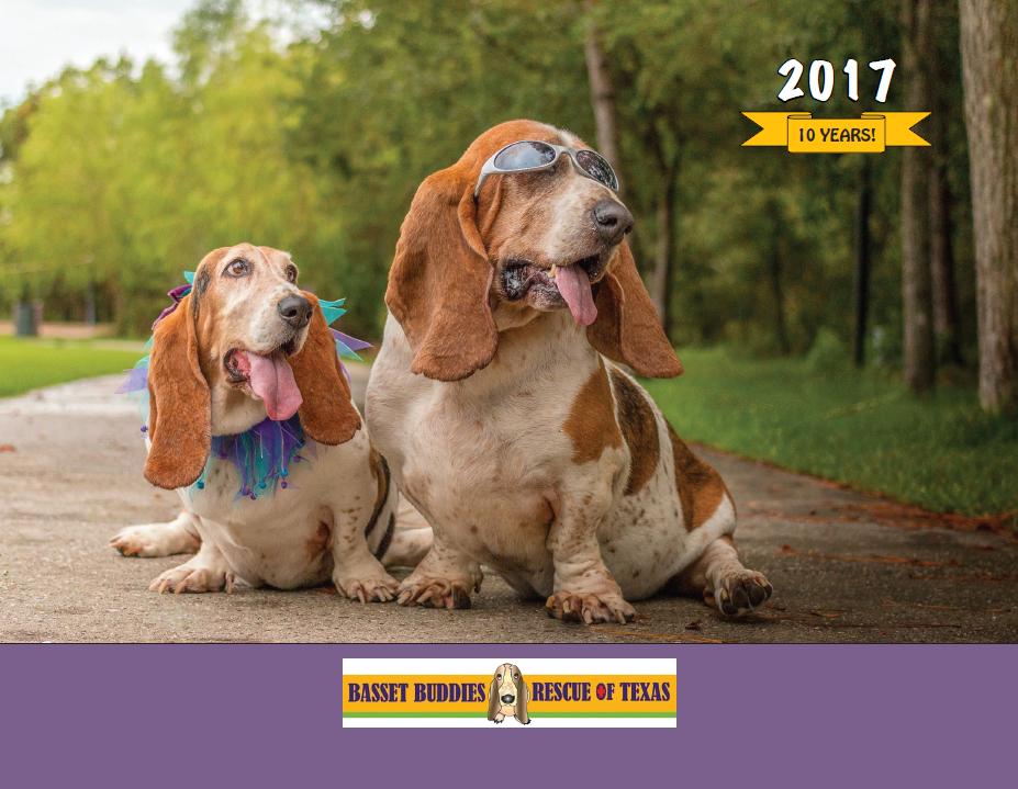 basset buddies calendar