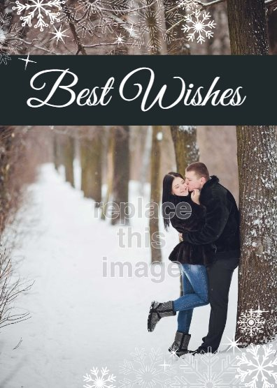 free holiday card template