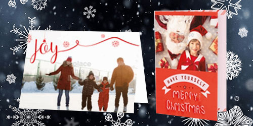 3 reasons why you should print your own custom holiday cards