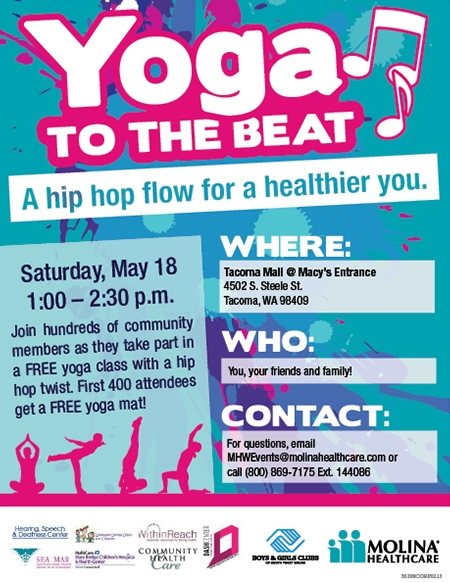 yoga flyer design inspiration