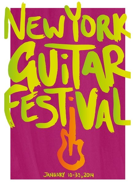 guitar festival flyer design