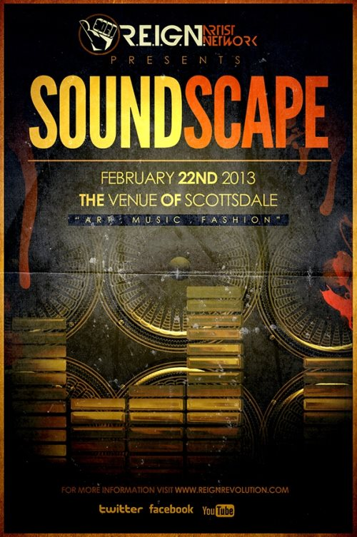 soundscape flyer design