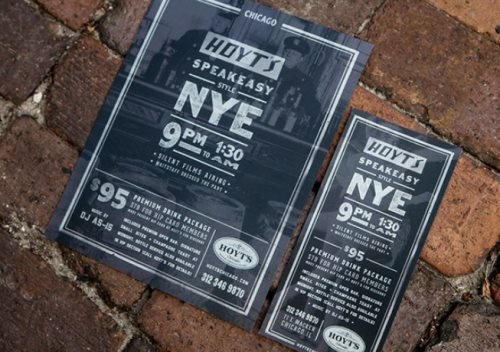 NYE flyer design