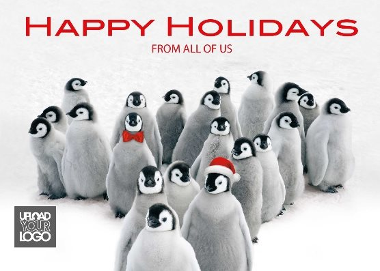 holiday penquins
