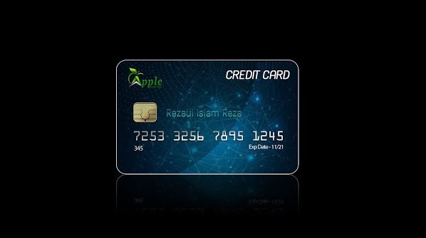 design a credit card in Photoshop