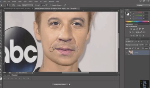 face swapping photoshop tutorial